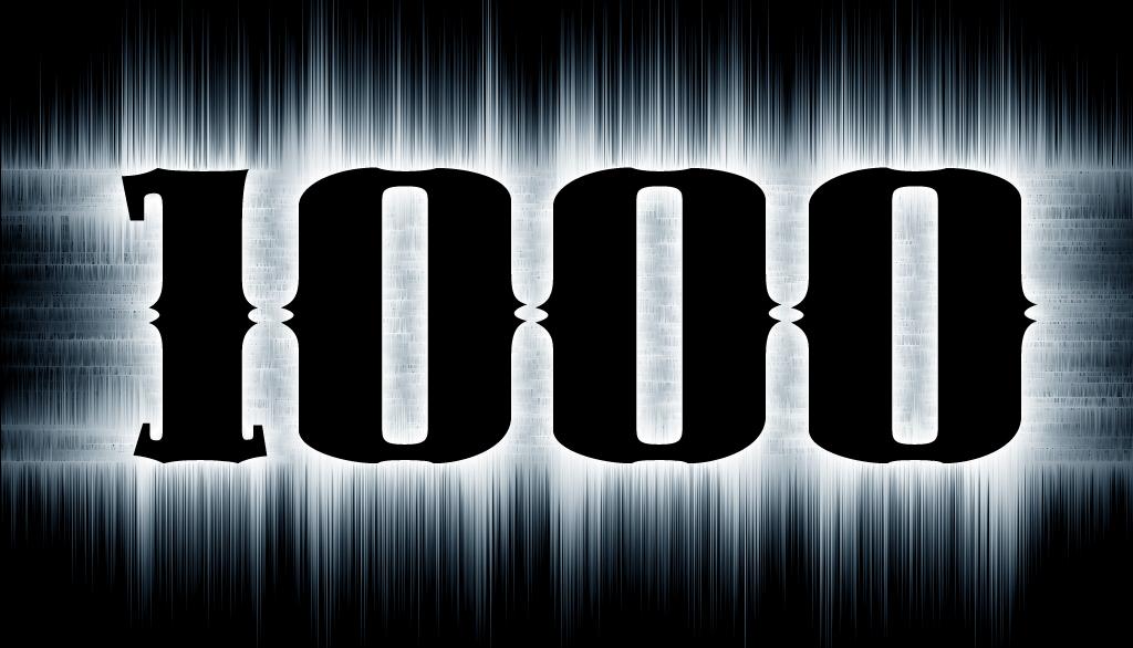 1000$ In €