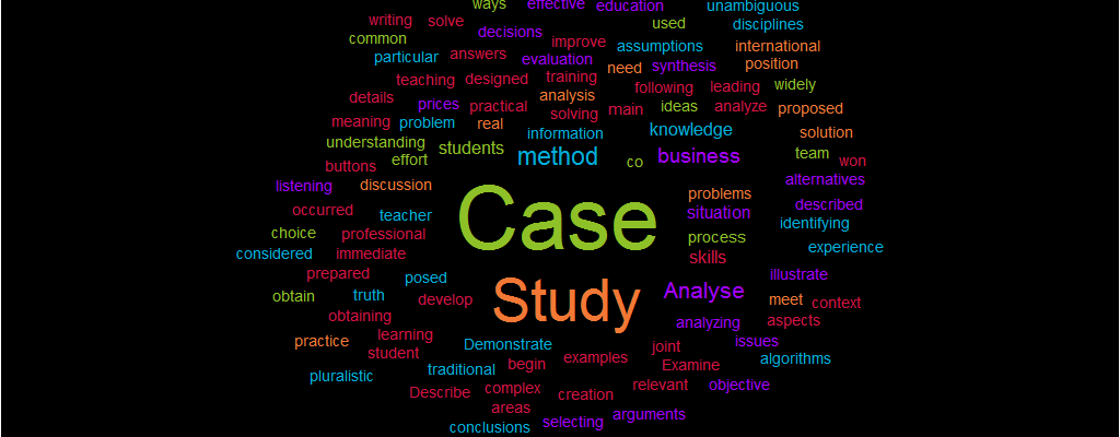 Analyse a Case Study