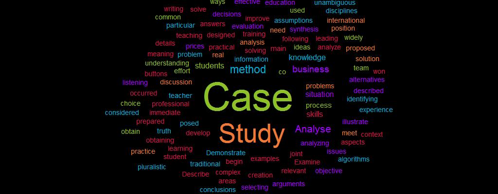 Analyse a Case Study