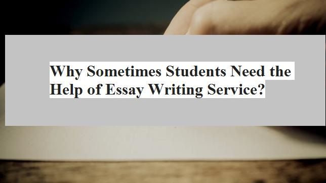 Make Students to Request Help of Writing Services