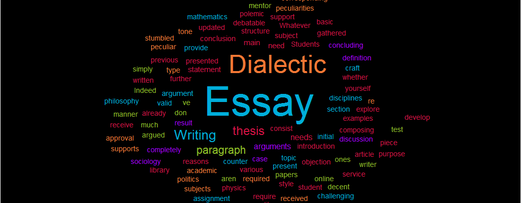 1984 Essay Thesis  English Essay Writing Examples also Thesis For An Analysis Essay Dialectic Essay Writing  Definition Structure And Tips Interesting Essay Topics For High School Students
