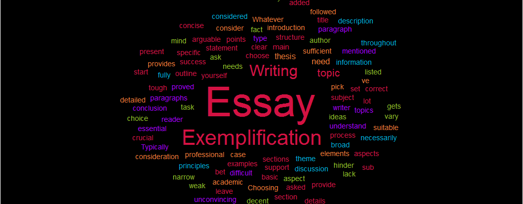 Graduating From High School Essay  How To Write An Essay Thesis also Good English Essays Examples Exemplification Essay Writing  Definition Tips And Topics Business Studies Essays