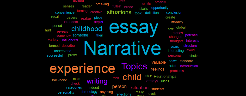 Topics Narrative essay