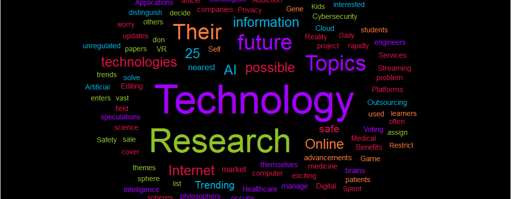 How to write research papers on technology