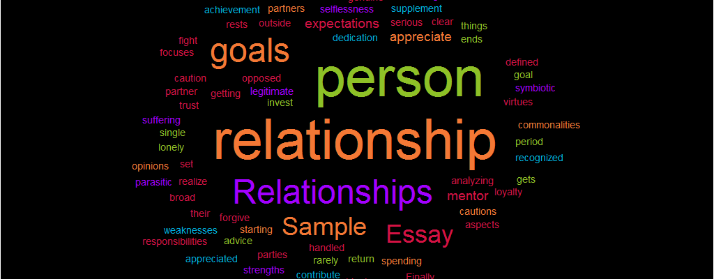 Sample: Relationships Essay