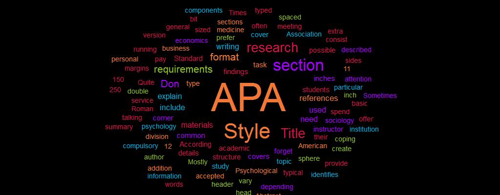 APA Style Paper