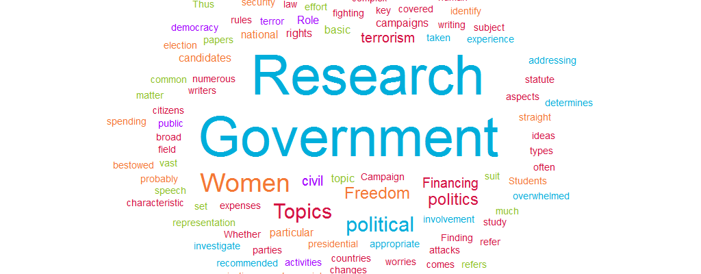 Government Research Paper Topics