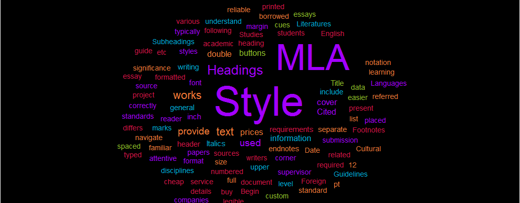 Paper in MLA Style