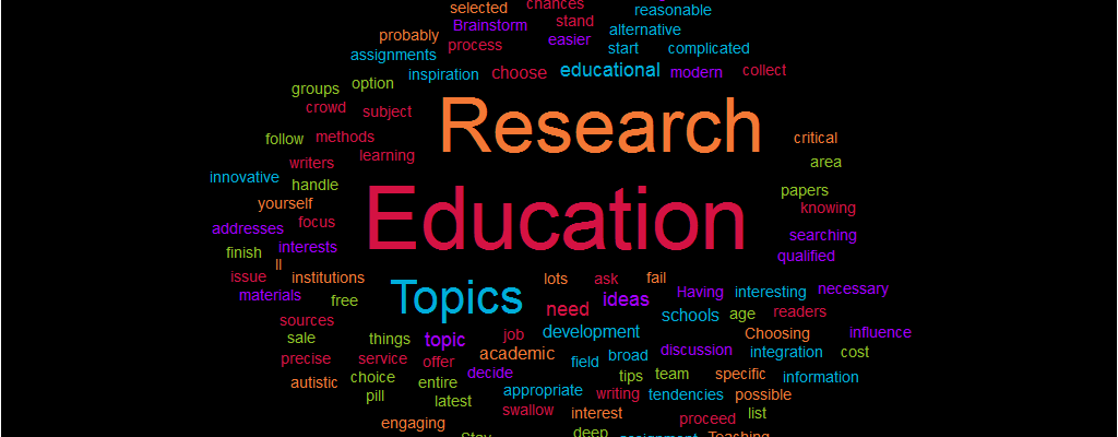 Buy research paper on education