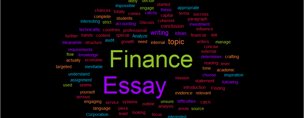 Finance Essay