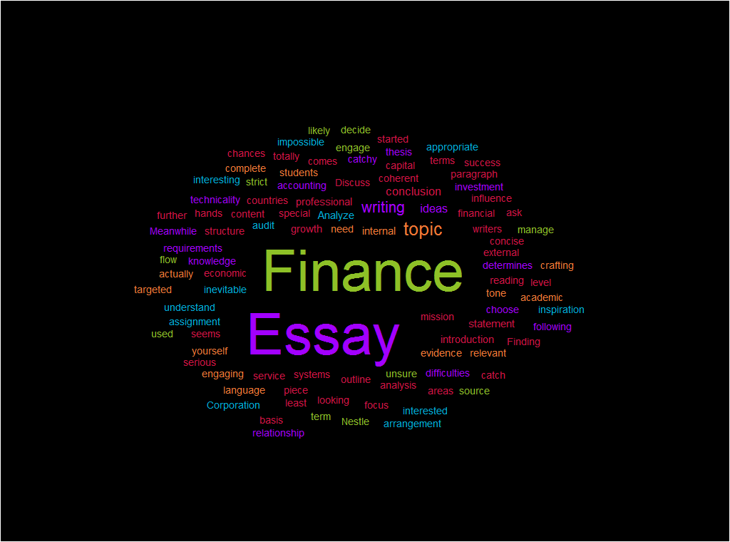 Essay writing in finance best american essays anthology